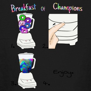 Breakfast of Champions Recipe - Kids' Long Sleeve T-Shirt