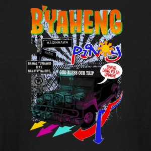 Byaheng Pinoy - Kids' Long Sleeve T-Shirt