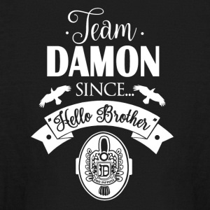 Team Damon Since Hello Brother - Kids' Long Sleeve T-Shirt