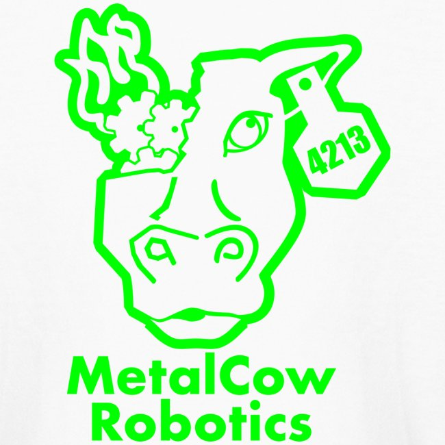 MetalCowLogo GreenOutline