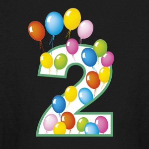 second birthday - Kids' Long Sleeve T-Shirt