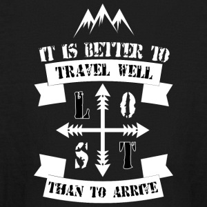 Travel Quote - Kids' Long Sleeve T-Shirt