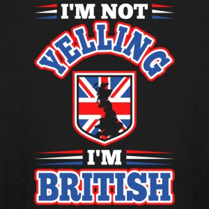 Im Not Yelling Im British - Kids' Long Sleeve T-Shirt