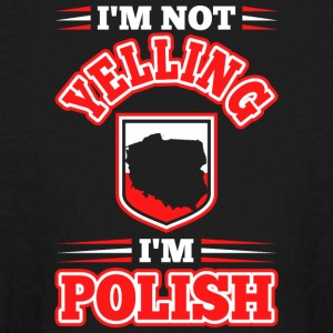 Im Not Yelling Im Polish - Kids' Long Sleeve T-Shirt