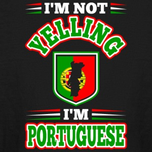 Im Not Yelling Im Portuguese - Kids' Long Sleeve T-Shirt