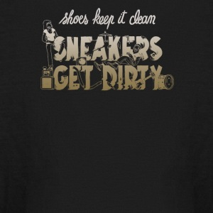 Shoes keep it clean sneakers get dirty - Kids' Long Sleeve T-Shirt