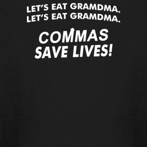Commas Save Lives - Kids' Long Sleeve T-Shirt