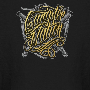 Gangster nation - Kids' Long Sleeve T-Shirt