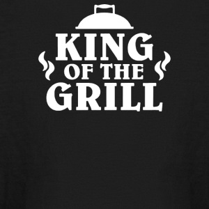 King Of The Grill - Kids' Long Sleeve T-Shirt