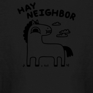Hay Neighbor - Kids' Long Sleeve T-Shirt
