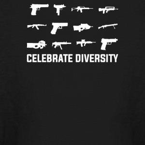 Celebrate Diversity Funny - Kids' Long Sleeve T-Shirt