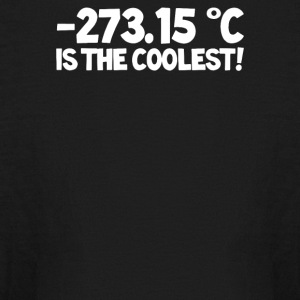 Temperature 273 15 is the Coolest - Kids' Long Sleeve T-Shirt