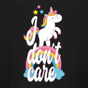 I don´t care - unicorn - Kids' Long Sleeve T-Shirt