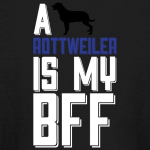 A ROTTWEILER Is My BFF T Shirt - Kids' Long Sleeve T-Shirt