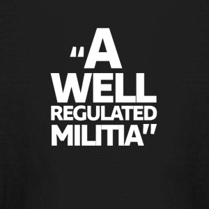 A Well Regulated Militia - Kids' Long Sleeve T-Shirt