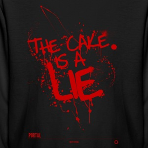 The cake is a lie - Kids' Long Sleeve T-Shirt
