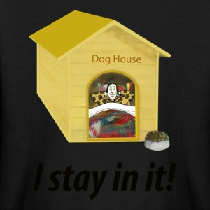 In the Doghouse - Kids' Long Sleeve T-Shirt