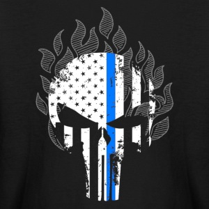 Thin Blue Line Shirt - Kids' Long Sleeve T-Shirt