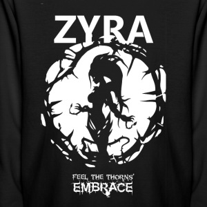 "Zyra ""Feel the thorns, Embrace"" - Kids' Long Sleeve T-Shirt"