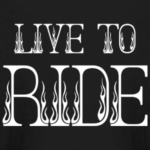 LIVE TO RIDE - Kids' Long Sleeve T-Shirt