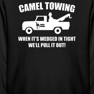 Camel Towing Funny - Kids' Long Sleeve T-Shirt