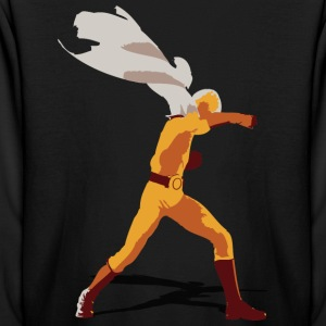 One Punch Saitama (color) - Kids' Long Sleeve T-Shirt