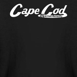 Cape Cod Massachusetts Vintage Logo - Kids' Long Sleeve T-Shirt
