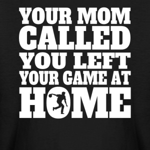 You Left Your Game At Home Funny Bowling - Kids' Long Sleeve T-Shirt