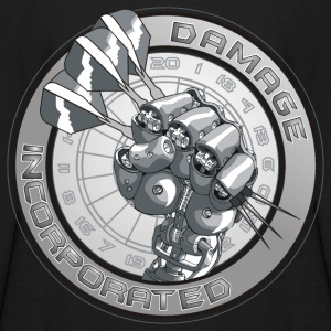 Damage Incorporated Darts Shirt - Kids' Long Sleeve T-Shirt