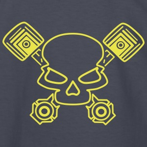 Skull - Kids' Long Sleeve T-Shirt