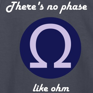 There's No Phase LIke Ohm - Kids' Long Sleeve T-Shirt