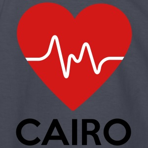 Heart Cairo - Kids' Long Sleeve T-Shirt