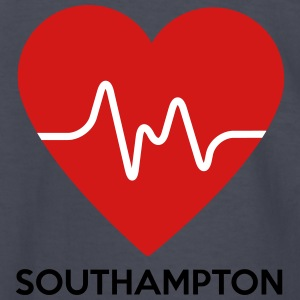Heart Southampton - Kids' Long Sleeve T-Shirt