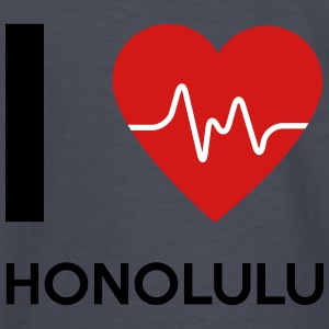 I Love Honolulu - Kids' Long Sleeve T-Shirt