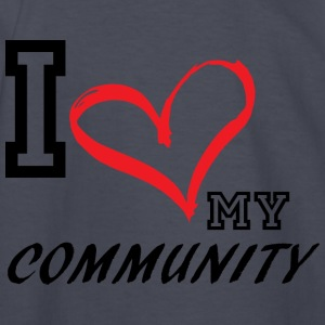 I_LOVE_MY_COMMUNITY - Kids' Long Sleeve T-Shirt
