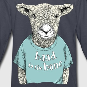 Baad to the bone - Kids' Long Sleeve T-Shirt