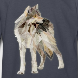 Lone Wolf - Kids' Long Sleeve T-Shirt