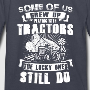 Some of US Farmer T Shirts - Kids' Long Sleeve T-Shirt