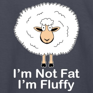I'm not Fat, I'm Fluffy! - Kids' Long Sleeve T-Shirt