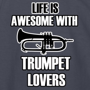 trumpet design - Kids' Long Sleeve T-Shirt