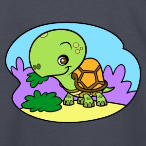Tiny Turtle - Kids' Long Sleeve T-Shirt