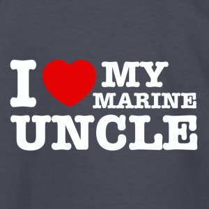 marine uncle design - Kids' Long Sleeve T-Shirt