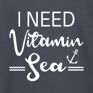 I Need Vitamin Sea - Kids' Long Sleeve T-Shirt