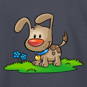 Doggy 01 - Kids' Long Sleeve T-Shirt