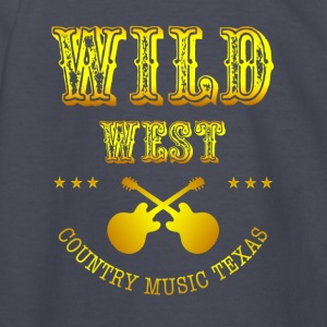 Wild West Country music - Kids' Long Sleeve T-Shirt