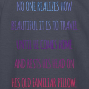 No one realiszes how beautiful it is to travel - Kids' Long Sleeve T-Shirt