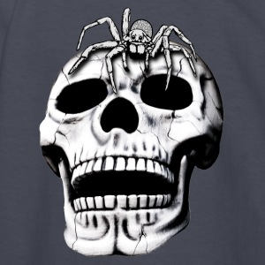skull and spider - Kids' Long Sleeve T-Shirt