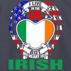 I Live In The Us But My Heart Is In Irish - Kids' Long Sleeve T-Shirt