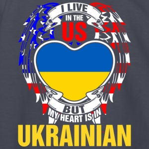 I Live In The Us But My Heart Is In Ukrainian - Kids' Long Sleeve T-Shirt