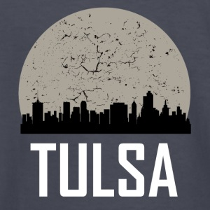 Tulsa Full Moon Skyline - Kids' Long Sleeve T-Shirt